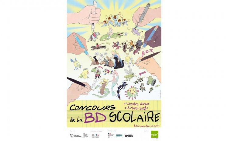 Festival de la BD Angoulême : des jeunes de l'IME Arc-en-Ciel sont sur le podium !
