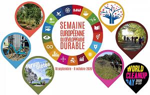 Semaine européenne du développement durable : notre association s'engage
