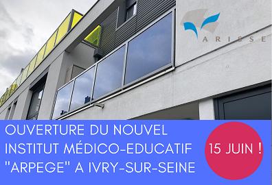 Un nouvel Institut Médico-Educatif  ouvre aujourd'hui à Ivry-sur-Seine :