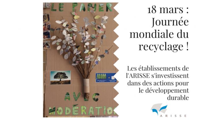 Journée mondiale du recyclage : 18 mars