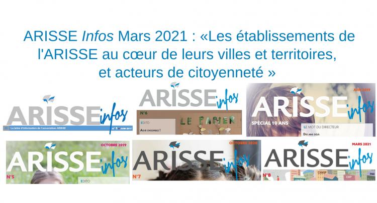 Les établissements de l'ARISSE au cœur de leurs villes et territoires, et acteurs de citoyenneté